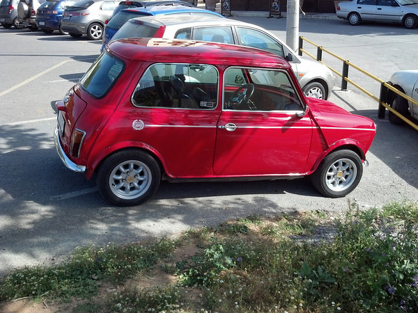 A Cherry Red Mini in Cherry Condition