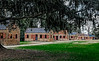 USA; South Carolina; Charleston; Boone Hall Plantation; Plantation House; Slave Cabin's