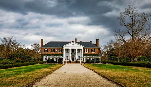 USA; South Carolina; Charleston; Boone Hall Plantation; Plantation House