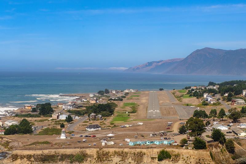 Landing at Shelter Cove, CA