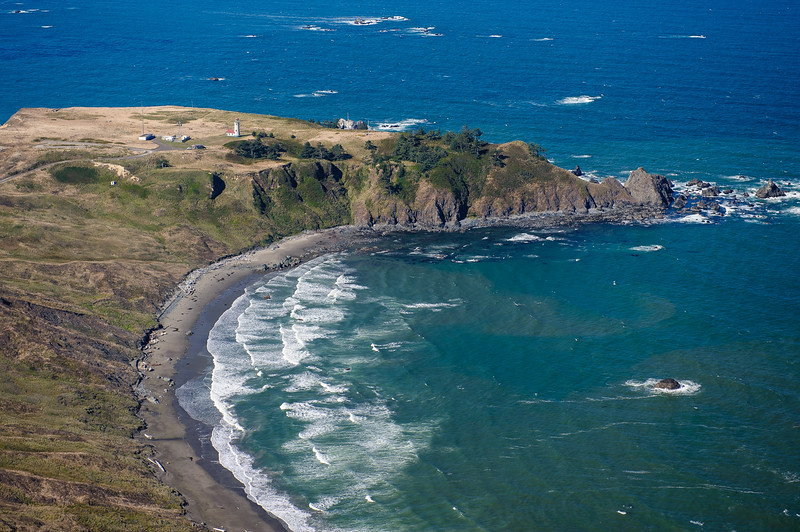 Cape Blanco with lighthouse, OR