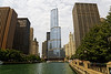 Chicago; Chicago River; Illinois; River Walk