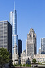 Chicago; Chicago Skyline; Illinois; USA