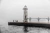 Lake Michigan; Manistee; Manistee Lighthouse; Michigan; USA