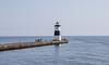 Erie; Lake Erie; North Pier Lier Lighthouse; Pennsylvania; USA