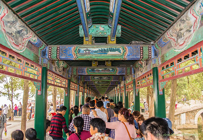 Covered Walk-way, Summer Palace, Beijing