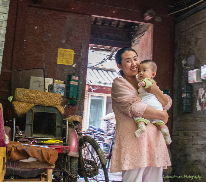 Snap shot impressions from the back of a bicycle propelled rickshaw tour of the historical hutongs (alleys) of Beijing.