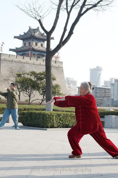 Tai Chi in Xian