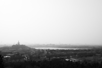 View of Beijing Beijing, China — April 2010