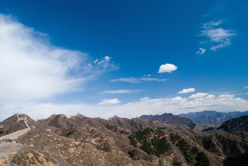 Jinshanling Great Wall China — April 2010