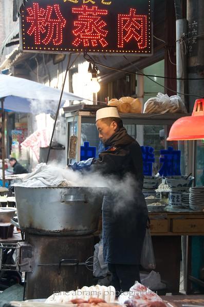 Moslem market, Xian
