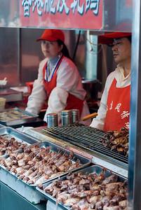 Street Market Beijing, China — April 2010