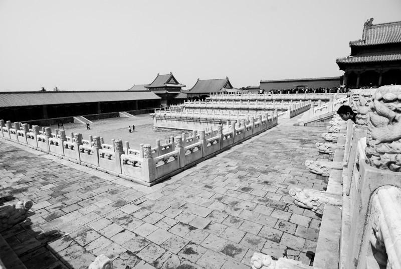 Forbidden City Beijing, China — April 2010