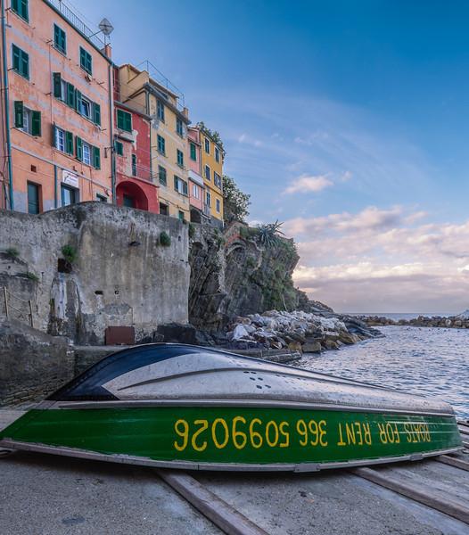 Boat for rent, Riomaggiore