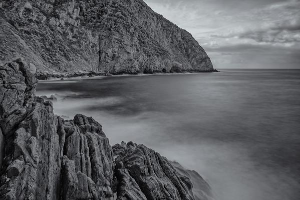 Wild coast of Riomaggiore