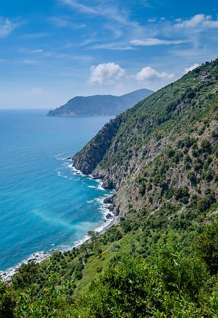Wild coast of Cinque Terre