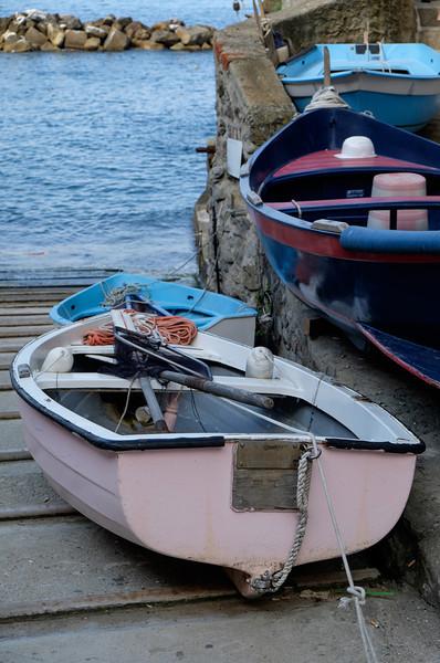Riomaggiore fishing boats