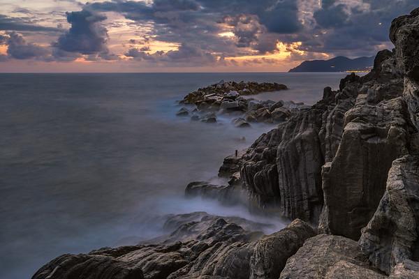 Riomaggiore coastline