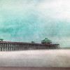Folly Beach Pier with Texture