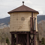Denver and Rio Grande Railroad Water Tank, South Fork, CO IMG_9517