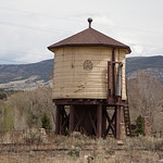 Denver and Rio Grande Railroad Water Tank, South Fork, CO IMG_9518