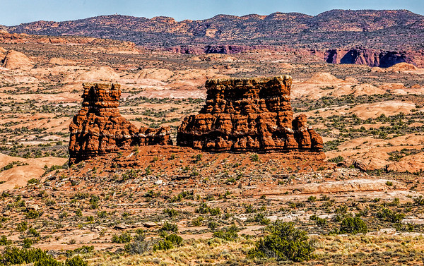 Utah; Moab; LaSal Mountain Outlook; USA; Arches National Park