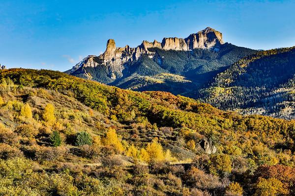 Colorado; USA; Ridgway; Owl Creek Pass