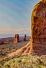 USA; Utah; Arches National Park; Balanced Rock