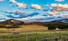 USA; Colorado; Ridgway; Country Road 10