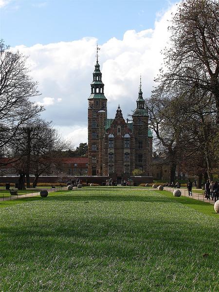the Rosenborg Slot - castle