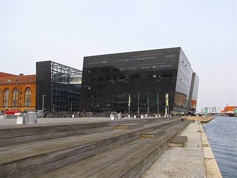 the Kongelige Bibliotek - National Library