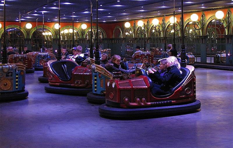 bumpercars at Tivoli