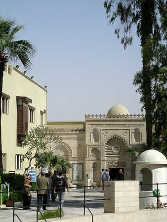 entrance to the Coptic Museum, Cairo