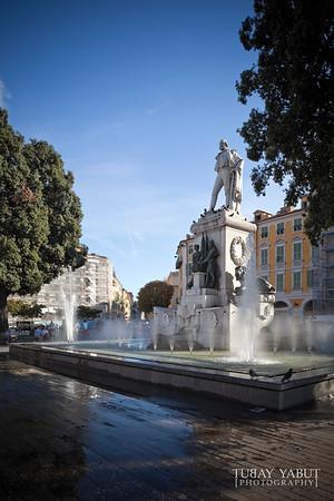 Place Garibaldi in Nice