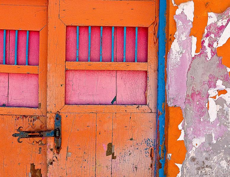 Peeling Paint, Cozumel, Mexico