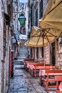 Street scene, Dubrovnik.