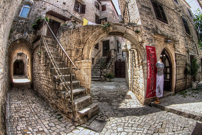 Street scene, Trogir.