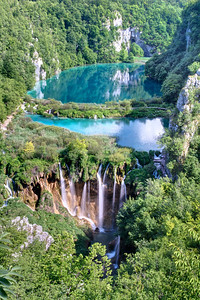 "The ""lower"" lakes, Plitvice National Park"
