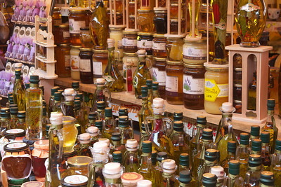 Honey, jams, olive oils and other specialty foods, Trogir.