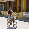Cuban on Bicycle