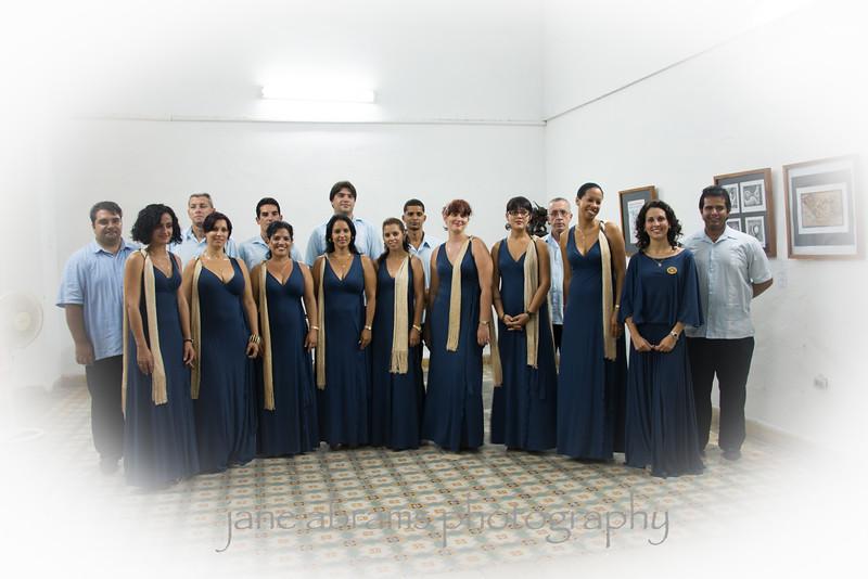 Cienfuegos choral group