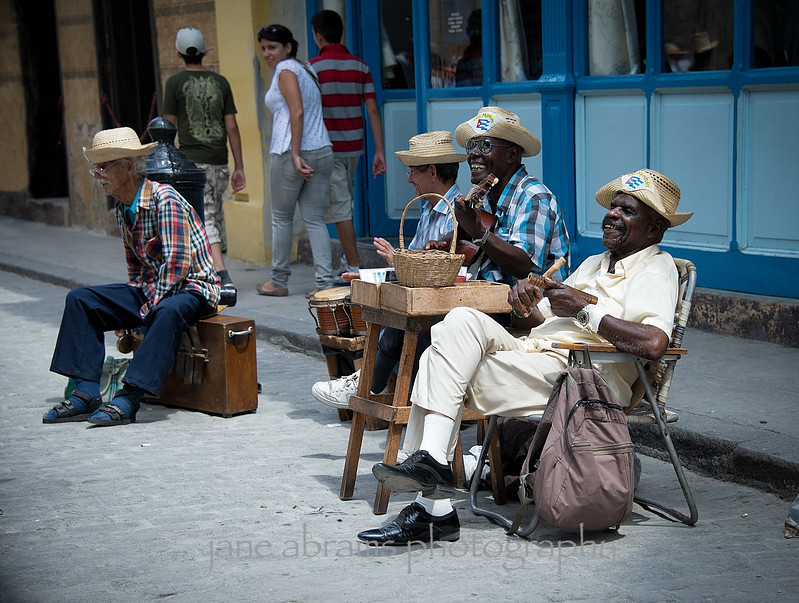 local musicians, Havana