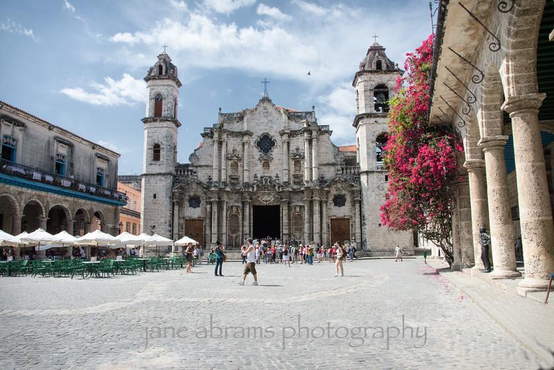 The Catedral de San Cristobal, Old Havana