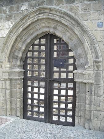 Church gate entry, Nicosia