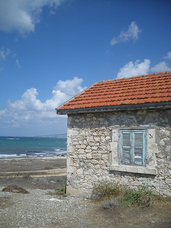 on the coast in Pafos