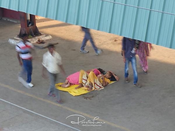 Delhi train station