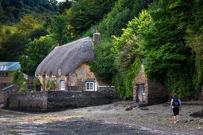 Thatched cottage, Dittisham