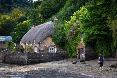 Thatched cottage, Dittisham