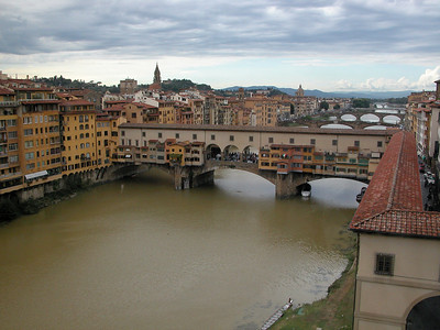 Ponte Vecchio on the Arno River