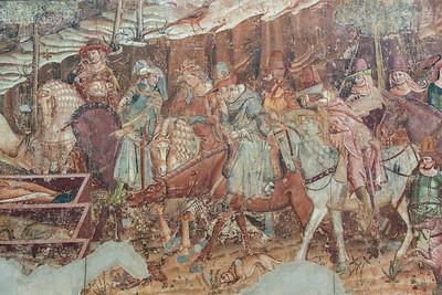 Camposanto Cemetery Frescoe